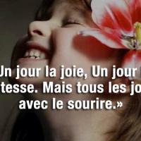 Quand la vie te sourit....
