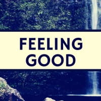 About feeling good and other ramblings