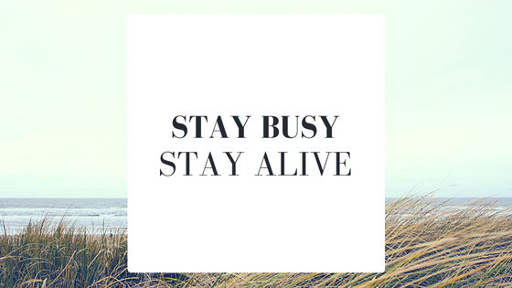 Stay-busy