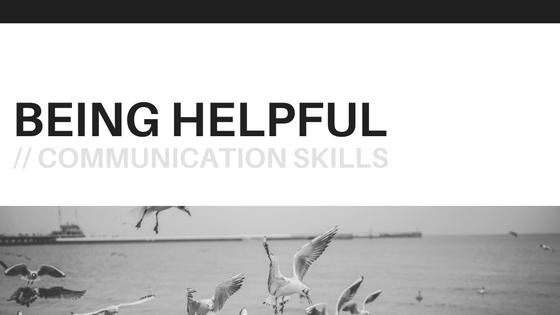Being-helpful