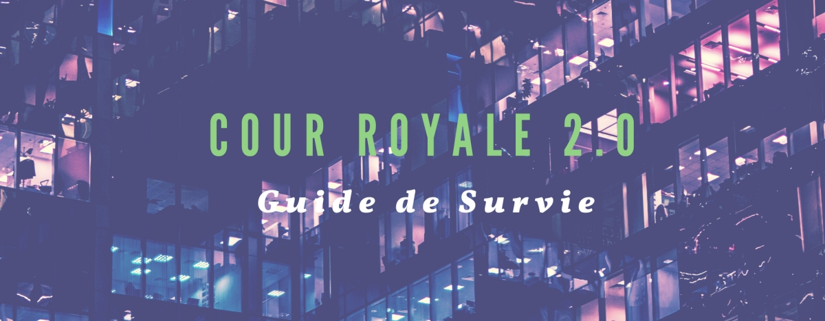 Guide de survie en cour royale 2.0