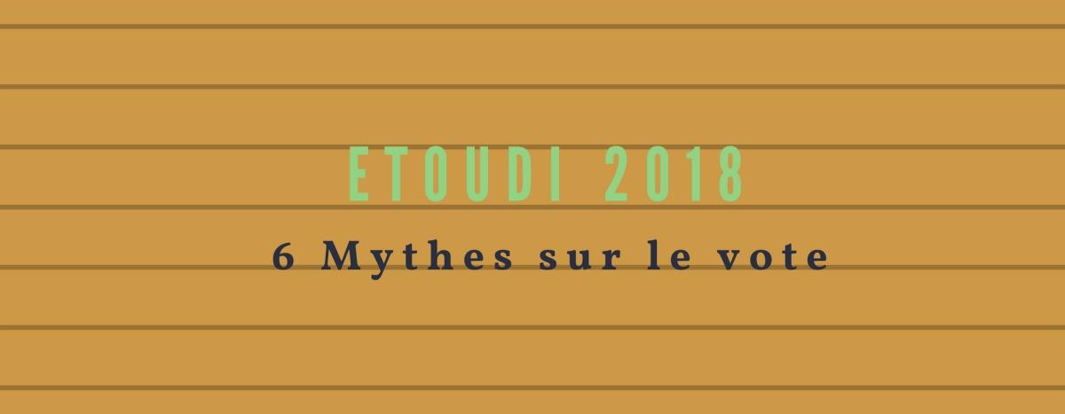 6 mythes sur Etoudi 2018